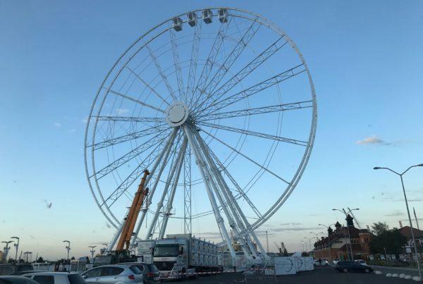 Wheel of Szczecin Montaż